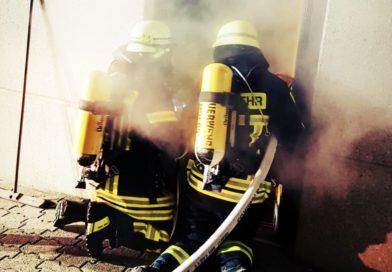 Brandeinsatz in der Moerser-Altstadt