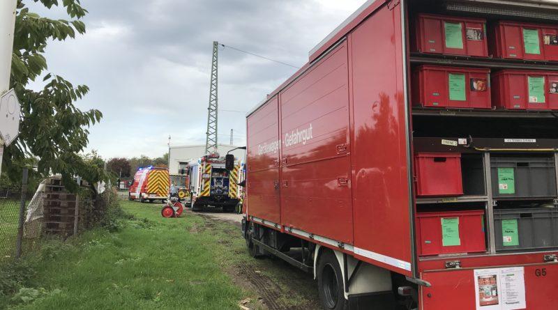 Gefahrguteinsatz am Güterbahnhof Rheinkamp!