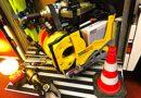 Verkehrsunfall mit drei schwer verletzten Personen!